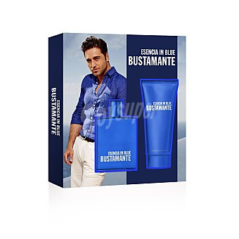 Bustamante Pack esencia in blue colonia + after shave 75 ml 100 ml