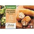 Croquetas de alcachofas con jamón ibérico Bandeja 300 g Fridela