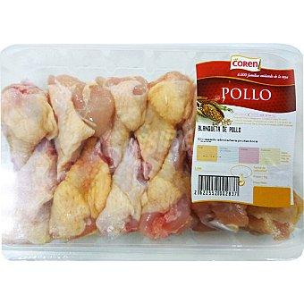 Coren Blanquetas de pollo amarillo bandeja 500 g peso aproximado Bandeja 500 g