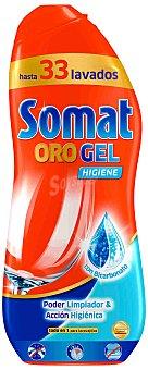 Somat Gel lavavajillas con bicarbonato 33 lavados