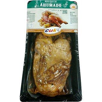 CUK medio pollo ahumado peso aproximado envase 700 g