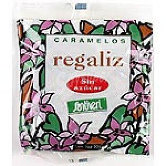 Santiveri Regaliz sin azúcar Bolsa 50 g