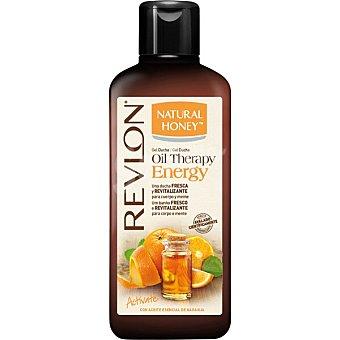 Natural Honey Gel de ducha oil energy naranja Bote 650 ml