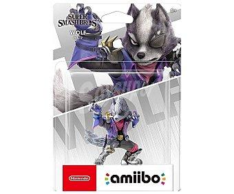 Nintendo Figura amiibo Wolf colección Super Smash Bros para Nintendo Switch, 3DS o Wii U, NINTENDO.