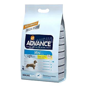 ADVANCE SIZE de AFFINITY Pienso para perros adultos mini Advance Light pollo y arroz 3 Kg
