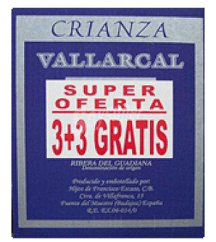 Vallarcal Vino tinto crianza Pack de 3x75 cl