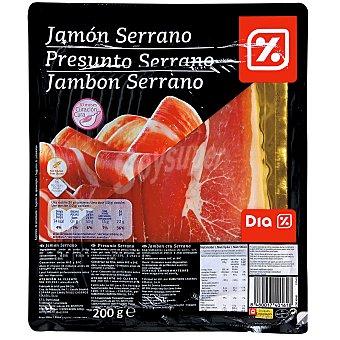 DIA Jamón serrano lonchas sobre 200 g Sobre 200 g