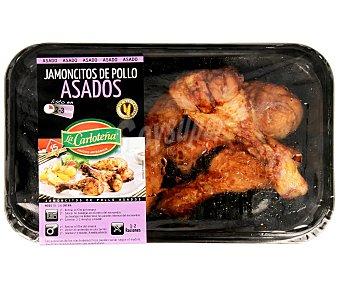 La Carloteña Jamoncitos de pollo asado elaborados sin gluten 300 g