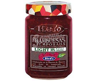 HERO Mermelada de frambuesa de temporada light Frasco de 335 g