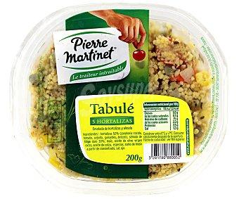 PIERRE MARTINET Ensalada tabule 5 hortalizas 200 Gramos