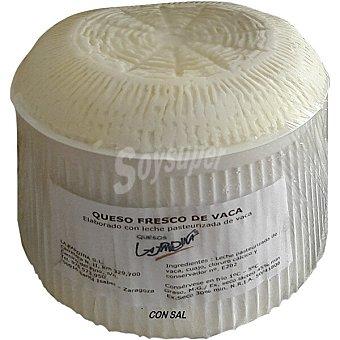 La pardina Queso fresco con sal  2,25 kg peso aproximado pieza
