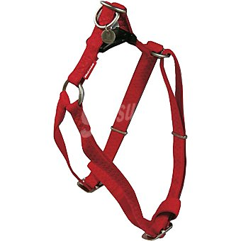 Nayeco Coleccion Macleather arnes para perro color rojo medidas 50-75 cm x 2 cm