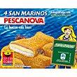 San Marinos con jamón y queso 300 g Pescanova