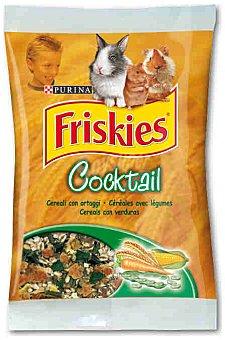 Friskies Purina Alimento complementario para pequeños mamíferos. cereales con verduras y legumbres 400 Gramos