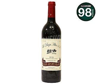 RIOJA ALTA 890 Vino tinto gran reserva con denominación de origen 890 botella de 75 centilitros 75cl