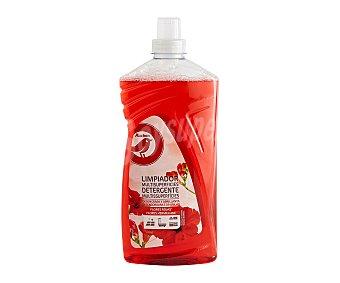 Producto Alcampo Limpiador multisuperficies, fragancia flores roja 1,25 l