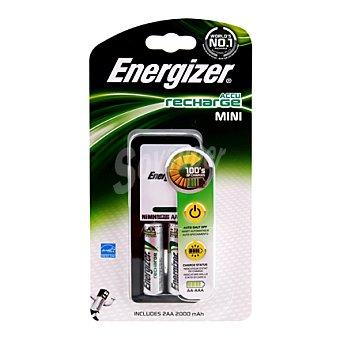 Energizer Cargador mini con dos pilas (aa)