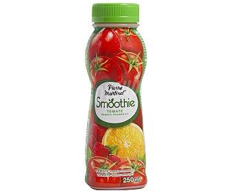 Smoothie Bebida de tomate, naranja y frambuesa Botella de 25 centilitros