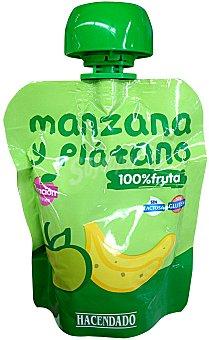 Hacendado Fruta bolsillo manzana y plátano Bolsa 90 g