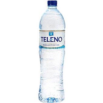 Teleno Agua mineral natural Botella 1,5 l