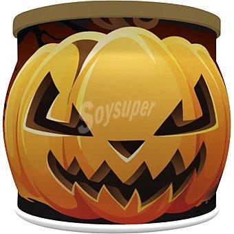 DEKORA Halloween calabaza con luz y caramelos surtidos  caja 10 unidades