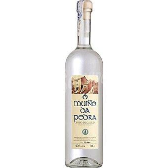 O Muiño DA pedra orujo de Galicia elaborado para grupo El Corte Inglés Botella 70 cl