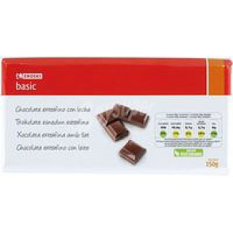 Eroski Basic Chocolate con leche Tableta 150 g