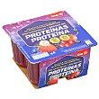 Gelatina sabor frutos rojos pack 4 unidades 100 gr Pack 4 unidades 100 gr DIA