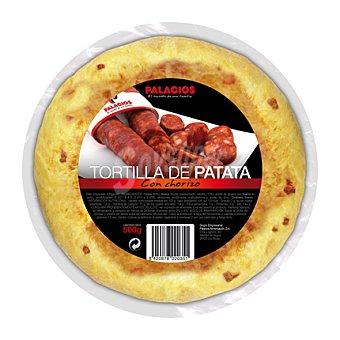 Palacios Tortilla con chorizo 500 g