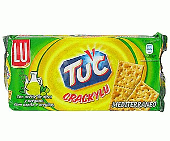 Tuc Crackers Mediterráneo crackylu  250 Gramos