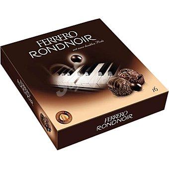 FERRERO Rondnoir Bombones de chocolate negro con relleno cremoso y avellana  16 unidades (158 g)