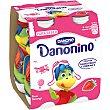 Petit líquido sabor fresa Bebedino Pack 4 unidades x 100 ml Danonino Danone