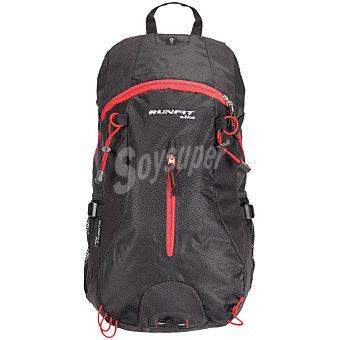Runfit Mochila Trekking en color negro y rojo