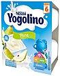 Postre lácteo de pera para bebés a partir de 6 meses 4 x 100 g Yogolino Nestlé