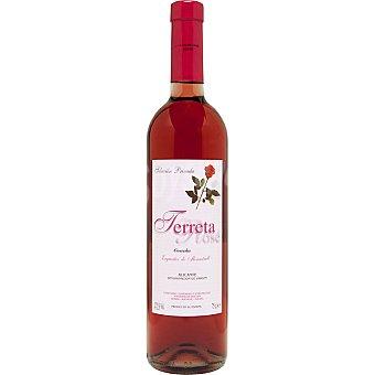 TERRETA Vino rosado D.O. Alicante botella 75 cl 75 cl