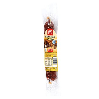DIA Chorizo extra sin colorantes Envase 385 g