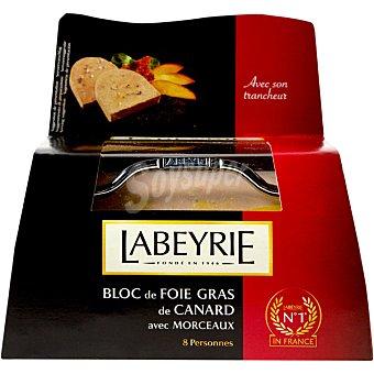 Labeyrie Bloc de foie gras de pato envase 300 g con regalo de un cortador Envase 300 g