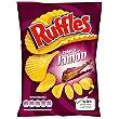 Patatas Fritas Ruffles Sabor a Jamón 170 g Ruffles