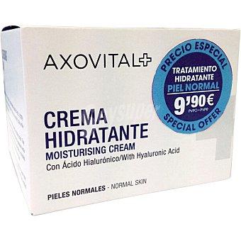 Axovital Gel crema hidratante facial para pieles normales tarro 50 ml tarro 50 ml