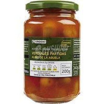 Eroski Aceitunas receta de la abuela Frasco 200 g