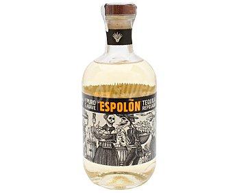 EL ESPOLÓN Tequila reposado hecho en Mexico y realizado con Agave puro Botella de 70 cl