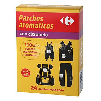 Carrefour Parches aromáticos con citronela 24 ud