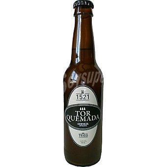 TORQUEMADA Cerveza artesana palenciana de trigo Botella 33 cl