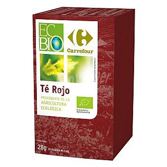 Carrefour Bio Té rojo en bolsitas ecológico 20 ud