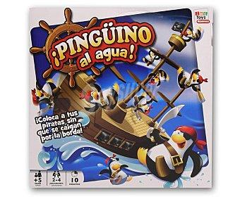 IMC Juego de Equilibrio Pingüino al Agua, de 2 a 4 Jugadores 1 Unidad