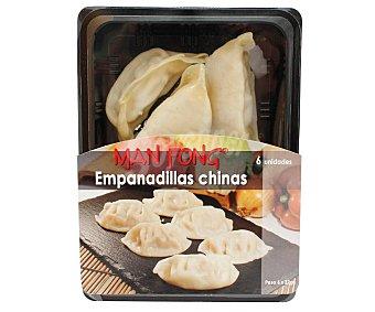 Manfong Bandeja con 6 empanadillas chinas MAN fong