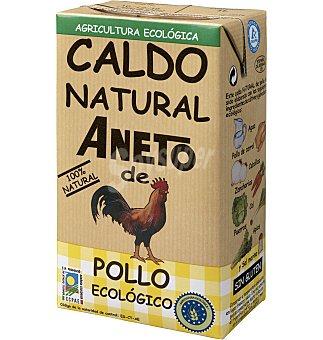 Aneto Caldo natural de pollo ecológico Brik de 1L