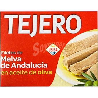 Tejero Filetes de melva de Andalucía en aceite de oliva lata 160 g neto escurrido