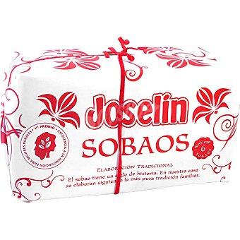 Joselin Sobaos pasiegos margarina Estuche 850 g