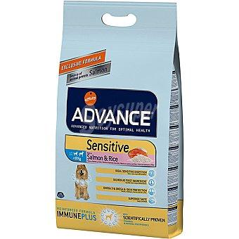 ADVANCE Sensitive pienso de alta gama para perros adultos de todas las razas rico en salmón bolsa 3 kg Bolsa 3 kg